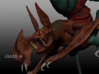 ZBrush創作:惡靈古堡5_怪物雕塑