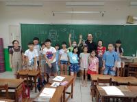 授課/演講花絮:<授課>台南市文元國小107年度暑期課後素描基礎社團