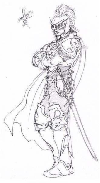 手绘王者荣耀英雄模型