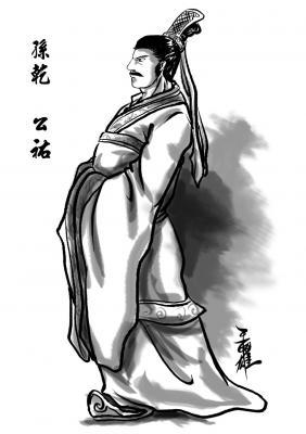 蜀漢人物篇-孫乾 公祐