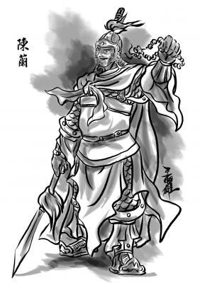 袁術陣營-陳蘭