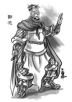 三国 郭汜如何成为大将军 郭汜打得过吕布吗,图片尺寸:390×480,来自